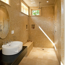 Transitional Bathroom by LDa Architecture & Interiors