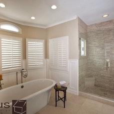 Contemporary Bathroom by APlus Interior Design & Remodeling