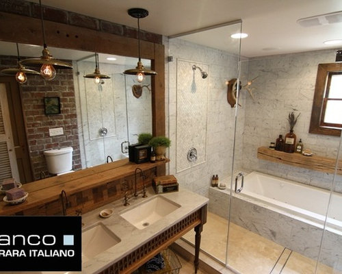 italian marble bathroom | houzz