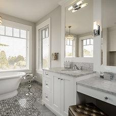 Traditional Bathroom by Tile Shoppe   Calgary