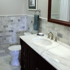 Traditional Bathroom by Stone Source