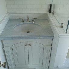 Traditional Bathroom by La Pietra Marble, Inc.