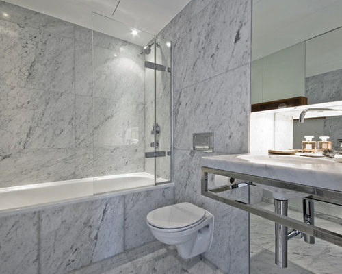 Marble Tile Bathroom Home Design Ideas Pictures Remodel And Decor