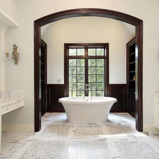 Traditional Bathroom by All Marble Tiles