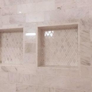 Bathroom - mid-sized modern bathroom idea in New York