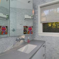 Modern Bathroom by Kerrie L. Kelly