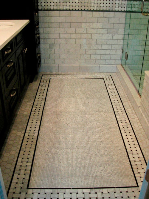 Carrera Marble Bathroom Houzz