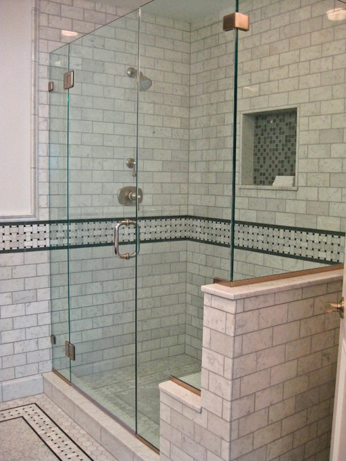 SaveEmail  Virtue Tile  15 Reviews  Carrera Marble Bathroom. Carrera Marble Bathroom Ideas  Pictures  Remodel and Decor