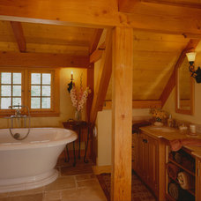 Traditional Bathroom by Timberpeg