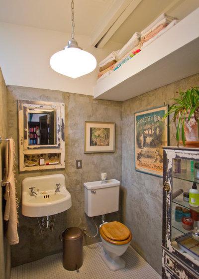 Industrial Bathroom by Bennett Frank McCarthy Architects, Inc.