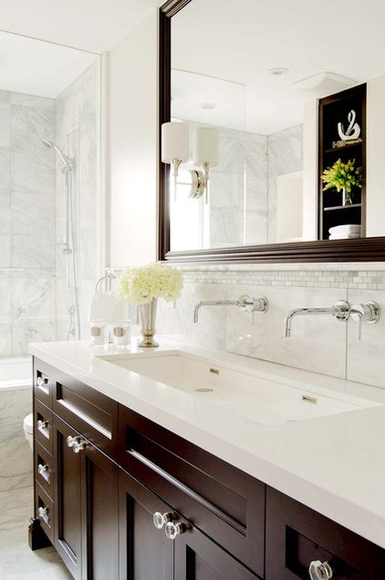 traditional bathroom by Buchman Photo