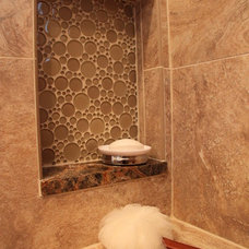 Transitional Bathroom by Kitchens by Request