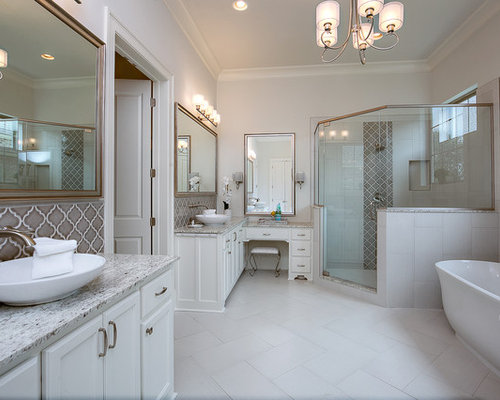 how to tile floor in bathroom traditional new orleans bathroom design ideas remodels 25523