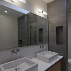 modern bathroom by nC2 architecture llc