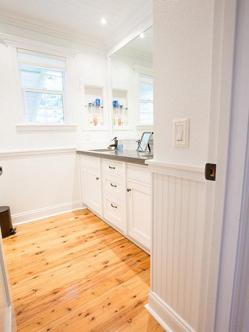 maritime badezimmer mit zementfliesen design ideen. Black Bedroom Furniture Sets. Home Design Ideas