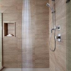 Modern Bathroom by Wallmark Custom Homes