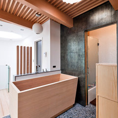 contemporary bathroom by Barker O'Donoghue Master Builders