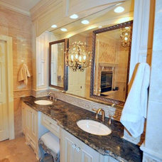 Traditional Bathroom by Essence Design Studios