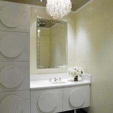 Contemporary Bathroom by Jamie Herzlinger
