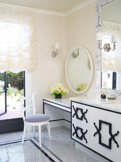 Contemporary Bathroom by Jamie Herzlinger