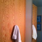 River rock shower traditional bathroom boston by for Casas modernas llc west 12th street dallas tx