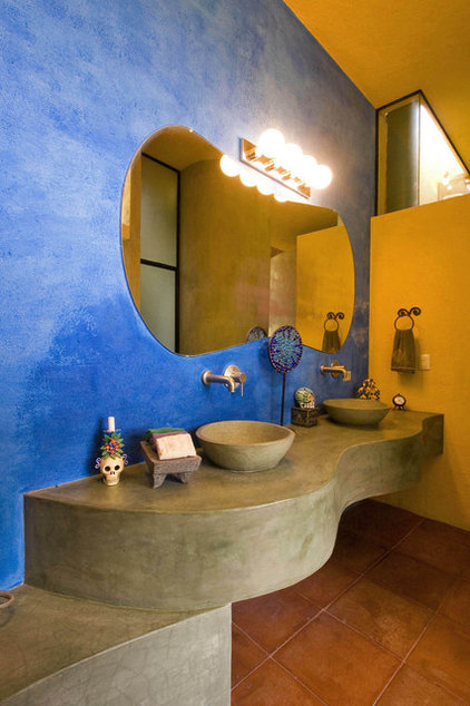 Eclectic Bathroom by House + House Architects