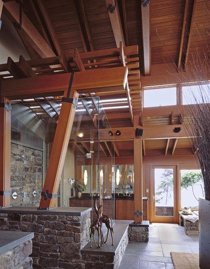 Contemporary Bathroom by Gelotte Hommas Architecture