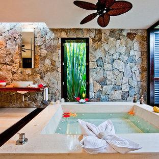 Idéer för ett exotiskt badrum