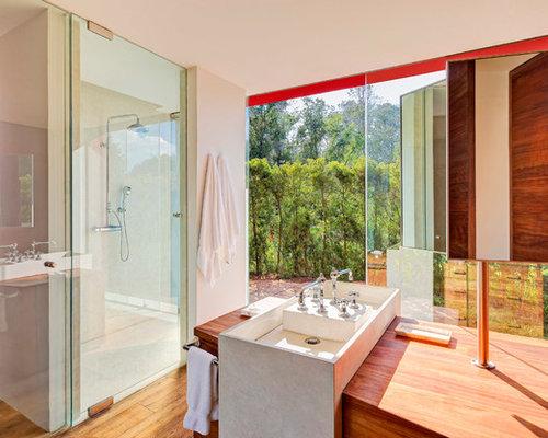 Badezimmer Kolonialstil kolonialstil badezimmer mit trogwaschbecken design ideen