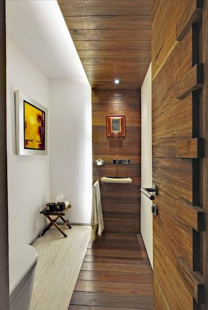 Modern Bathroom by Lopez Duplan Arquitectos