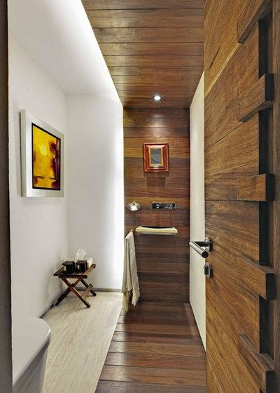 schlauchbad einrichten so wirkt es ger umig. Black Bedroom Furniture Sets. Home Design Ideas