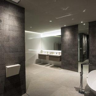 Salle de bain avec un WC suspendu Costa Rica : Photos et ...