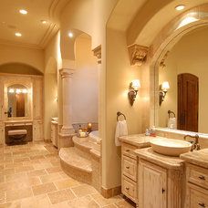 Mediterranean Bathroom by Integrity Luxury Homes