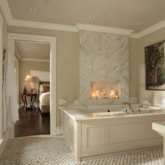 traditional bathroom by Casa Verde Design