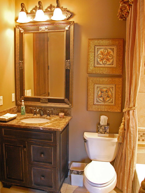 Affordable Small Mediterranean Sink Undermount Bathroom Design Ideas Pictures Remodel Decor