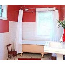 Eclectic Bathroom casajuana