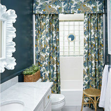 Transitional Bathroom by Abby M. Interiors