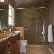 Contemporary Bathroom by Case Design/Remodeling San Jose