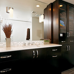 modern bathroom by Case Design/Remodeling, Inc.