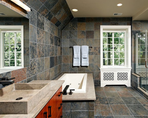 SaveEmail. Slate Tile Bathroom Ideas  Pictures  Remodel and Decor