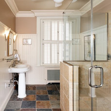 Contemporary Bathroom by Case Design/Remodeling, Inc.