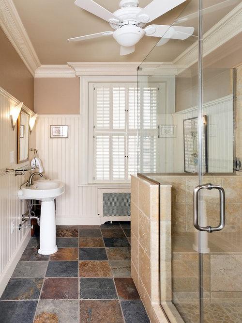 Beadboard Bathroom Design Ideas ~ Half wall toilet beadboard home design ideas pictures