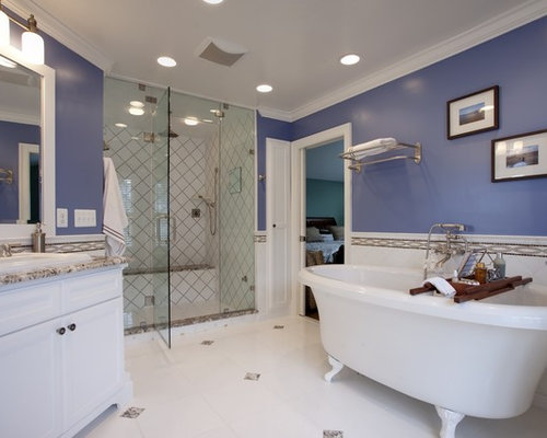 Image gallery periwinkle paint Contemporary bathroom colors