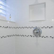 Bathroom by Case Design/Remodeling, Inc.