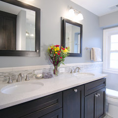 bathroom by Case Design/Remodeling, Inc.