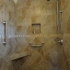 Mediterranean Bathroom by Case Design/Remodeling San Jose