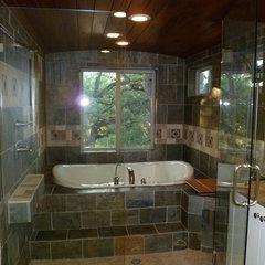 contemporary bathroom by Vaastu Design Studio, LLC