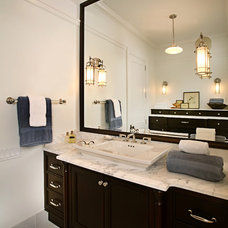 Contemporary Bathroom by Kathleen McGovern Studio of Interior Design