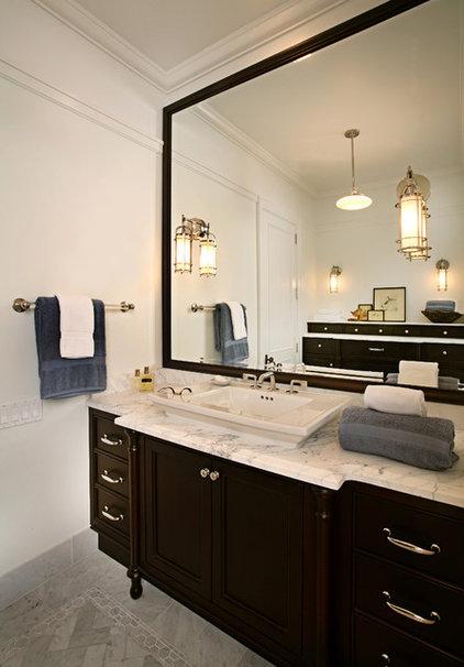 Contemporary Bathroom by Kathleen McGovern Studio of Interior Design