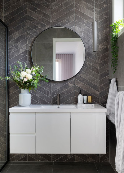 Contemporary Bathroom by Studio Black Interiors